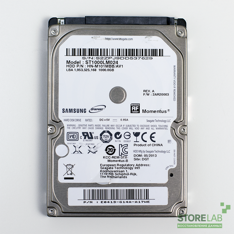 Seagate ST1000LM024